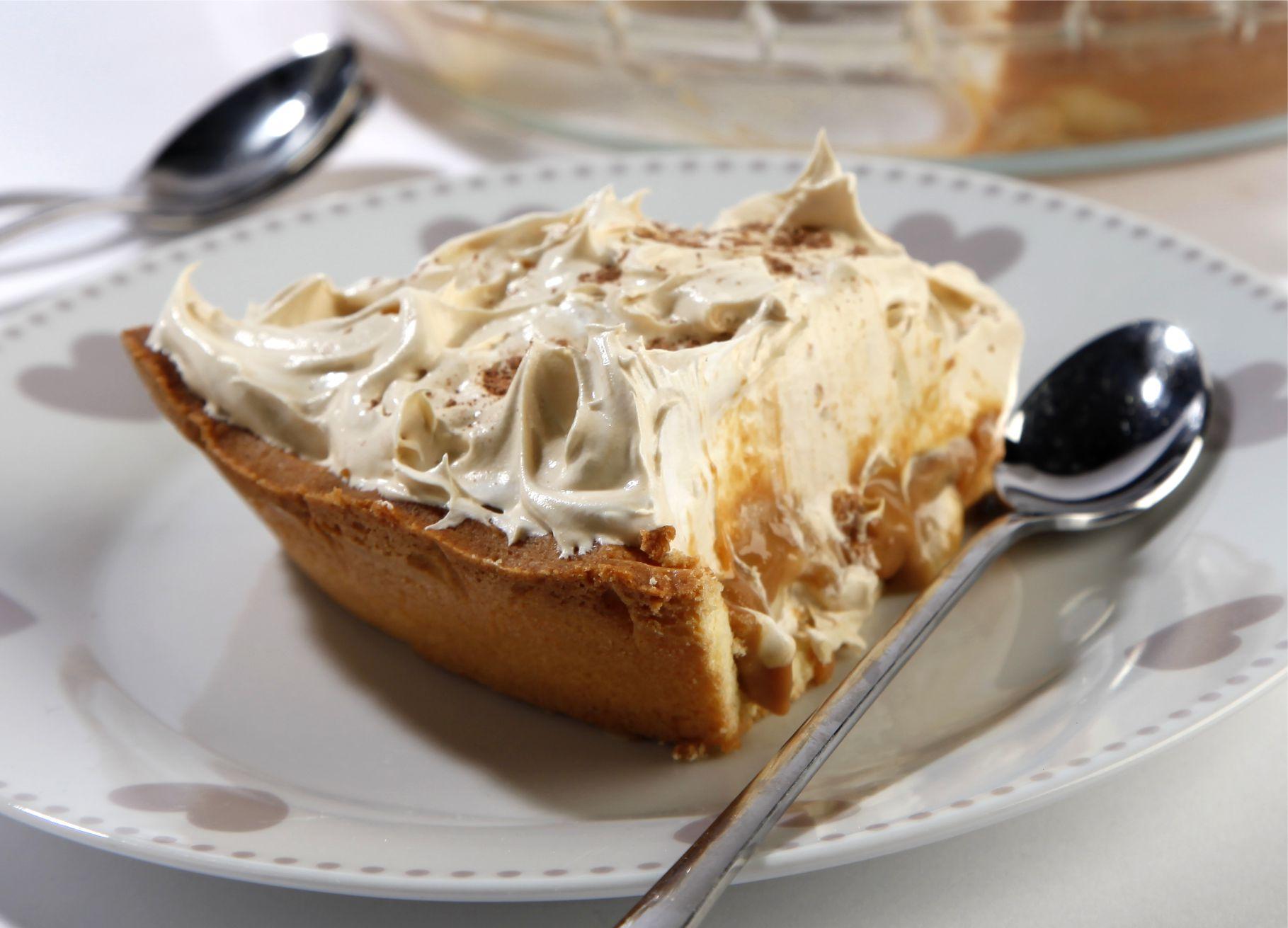 Banoffe Creme Pie